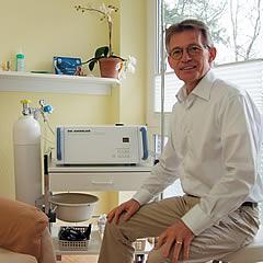 Ozonbehandlung Heilpraktiker in Oldenburg Sandkrug Gerd Decker